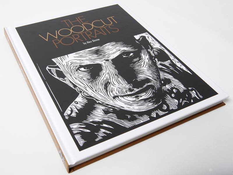 The Woodcut Portraits by Alex Binnie