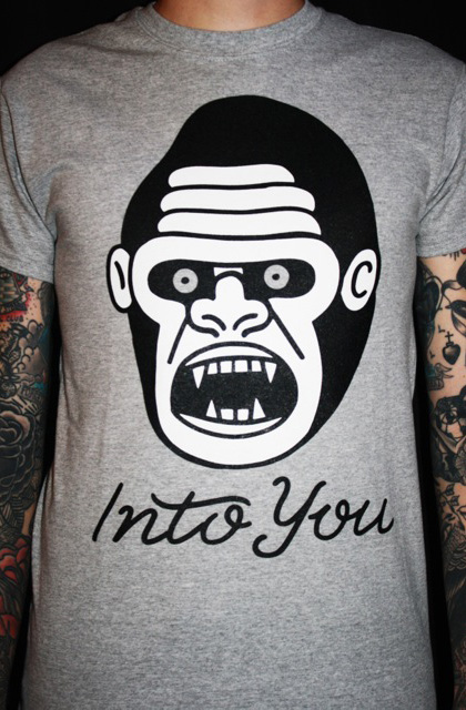 Grey Gorilla T-Shirt