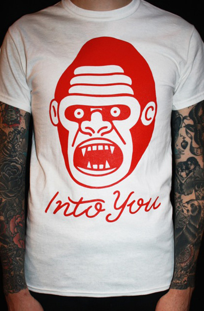White Gorilla T-Shirt