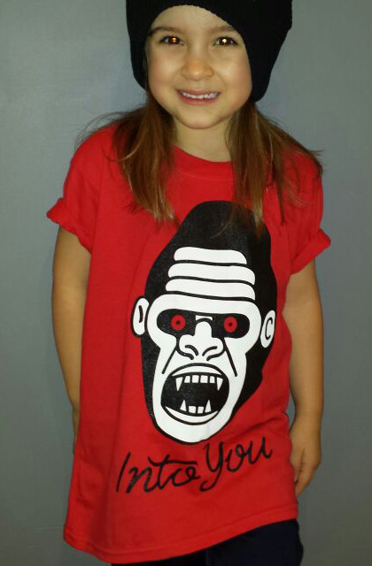 Red Gorilla Kids T-Shirt